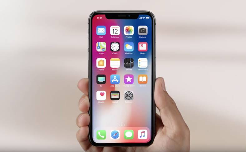 iPhone X iOS 11. face id