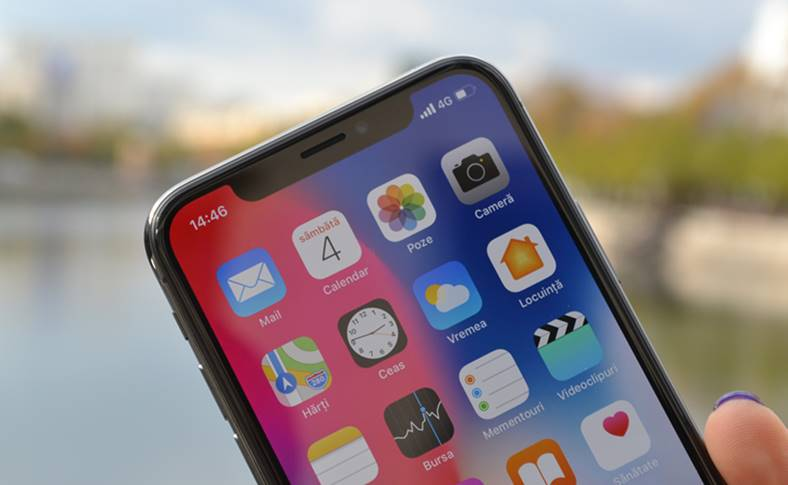 iPhone X imposibil realizat