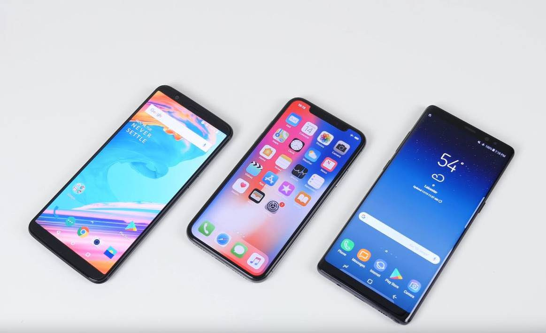 iPhone X incarcare rapida samsung galaxy note 8