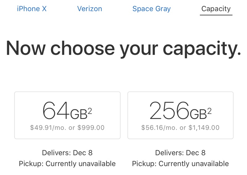 iPhone X livrare repede Craciun