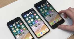 iPhone X vanzari iPhone 8 decembrie