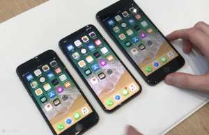 iPhone X vanzari iPhone 8 decembrie