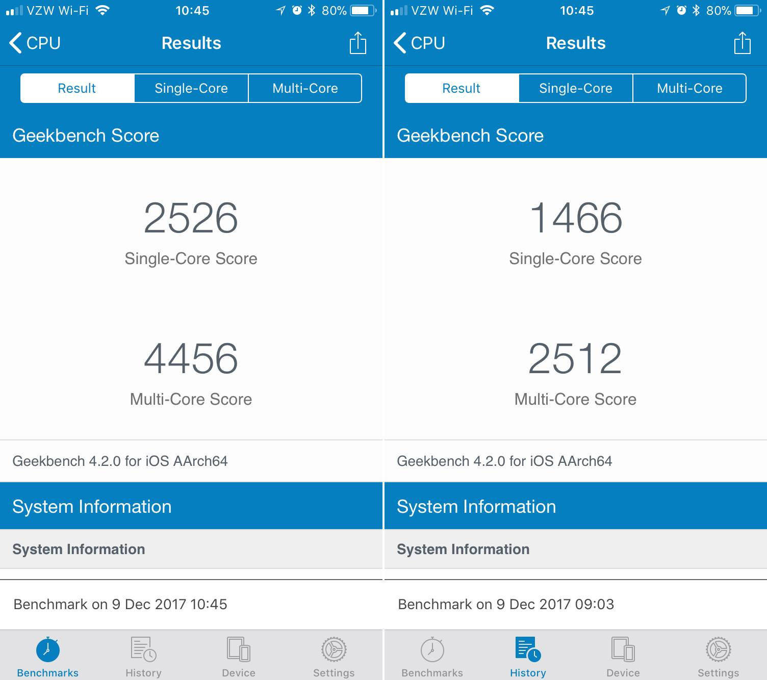 iphone performante afectate baterie
