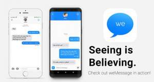weMessage iMessage Android