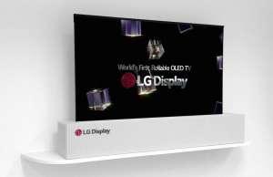 CES 2018 LG televizor 4K pliabil