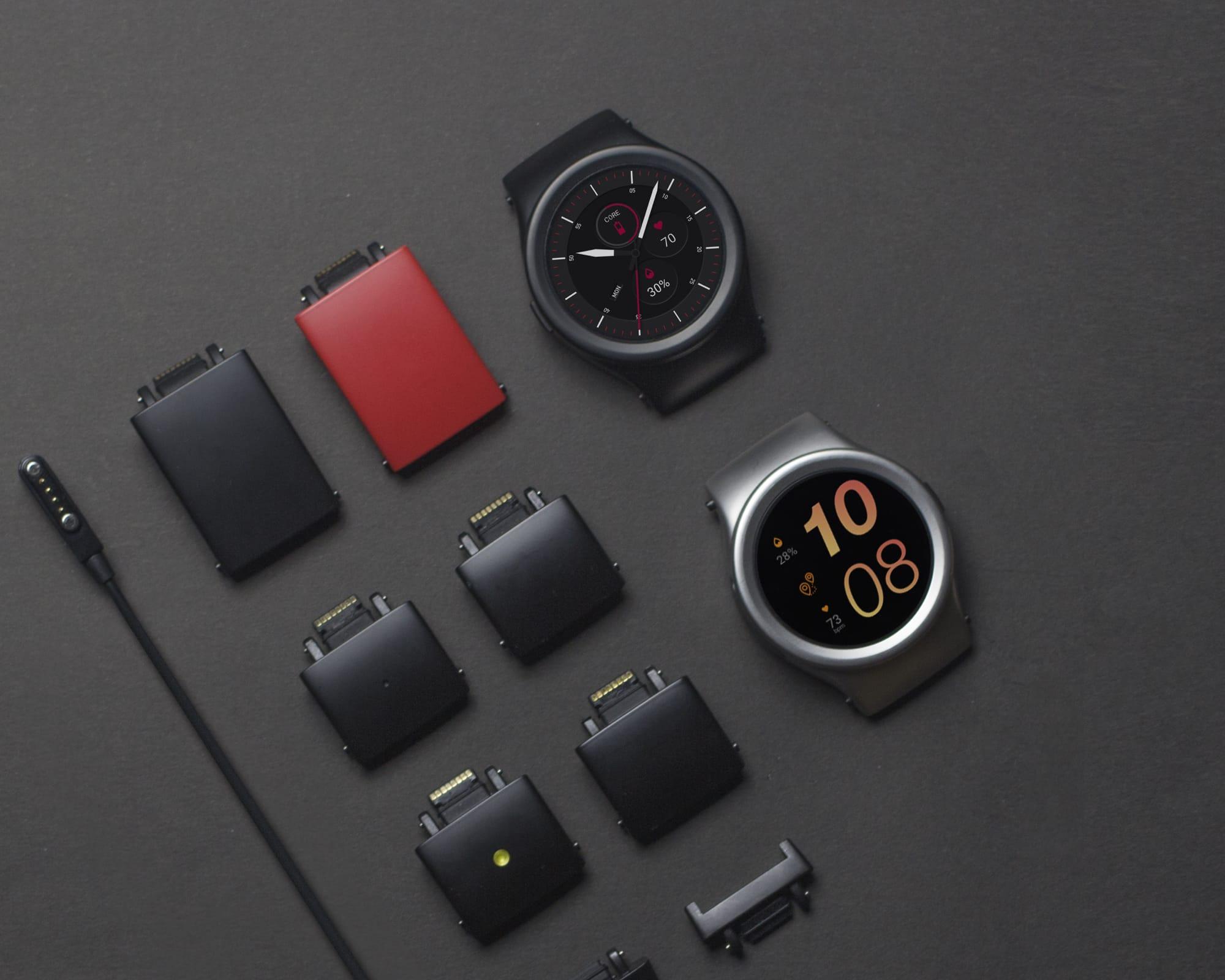 CES 2018 blocks smartwatch modular 1