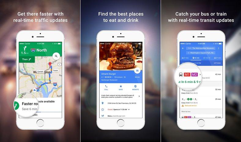 Google Maps update iphone ipad ios