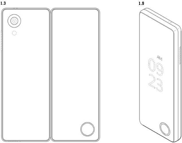 LG smartphone pliabil 1