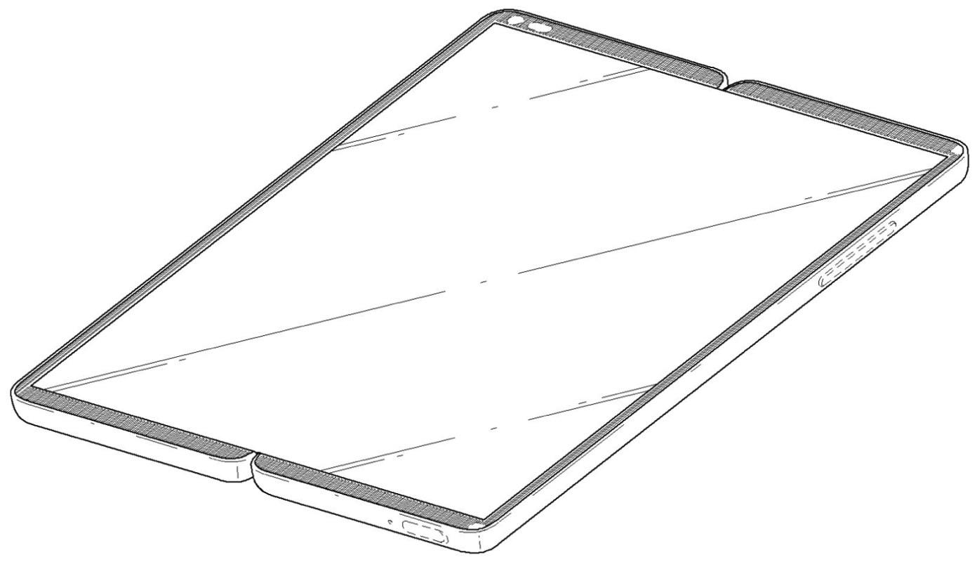 LG smartphone pliabil