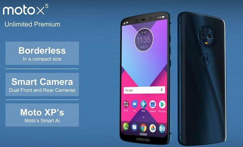 Motorola Moto X5 copie iPhone X