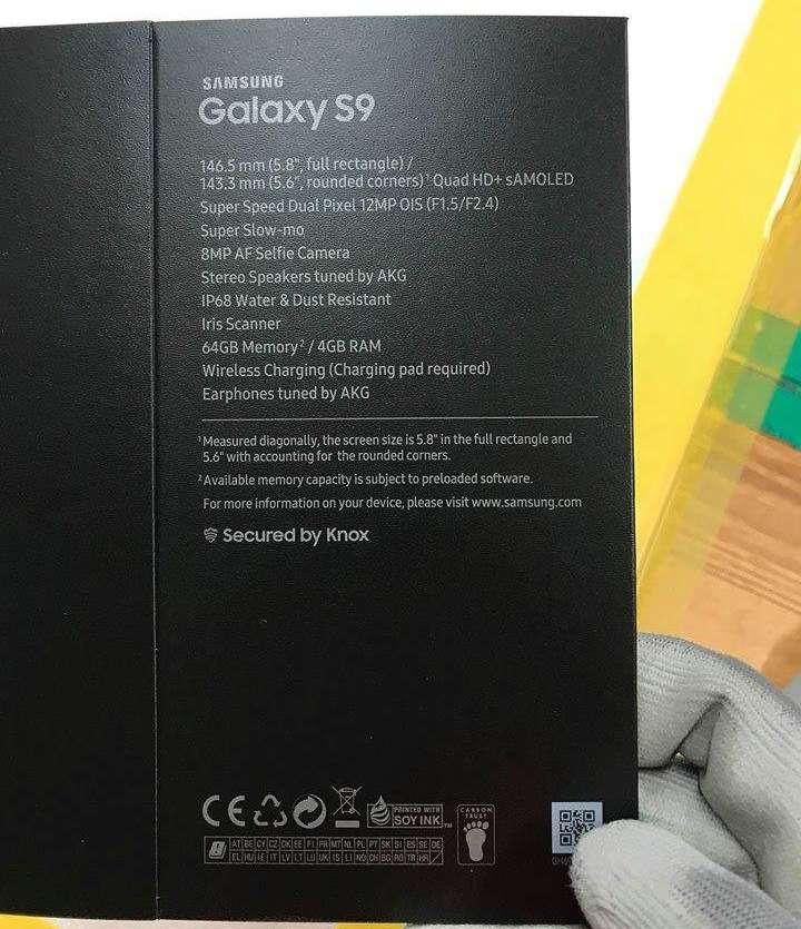 Samsung Galaxy S9 cutie