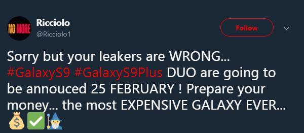 Samsung Galaxy S9 exclusiv pret