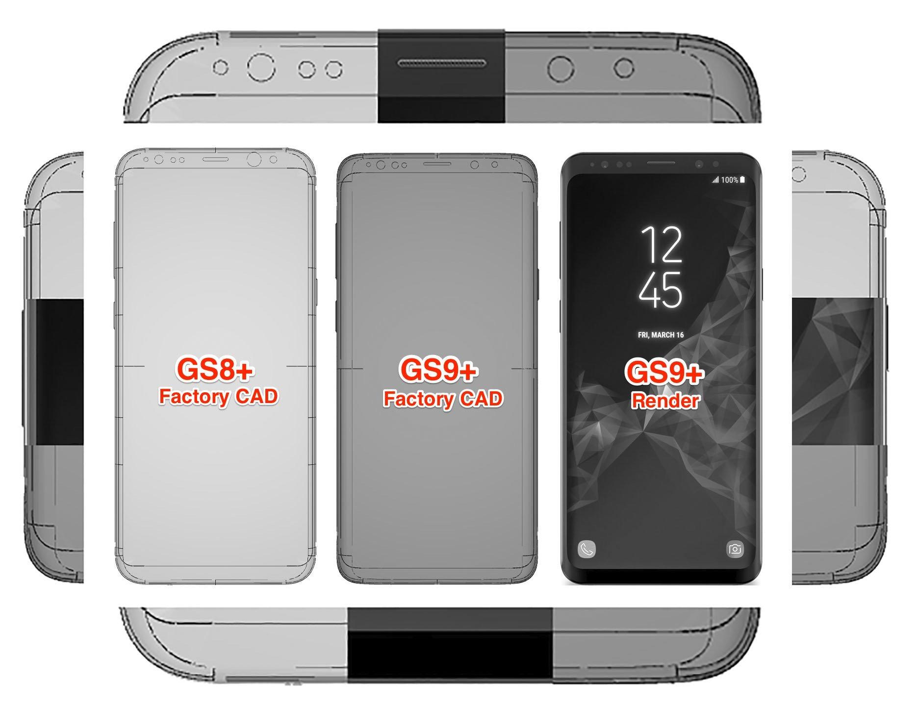 Samsung Galaxy S9 imagine cad