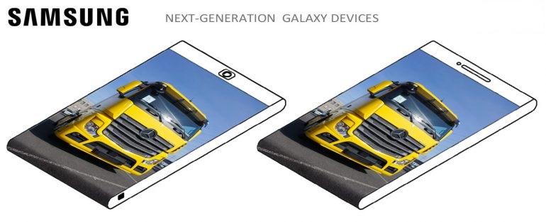 Samsung smartphone ecran carcasa