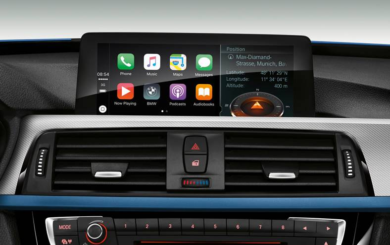 bmw plata carplay