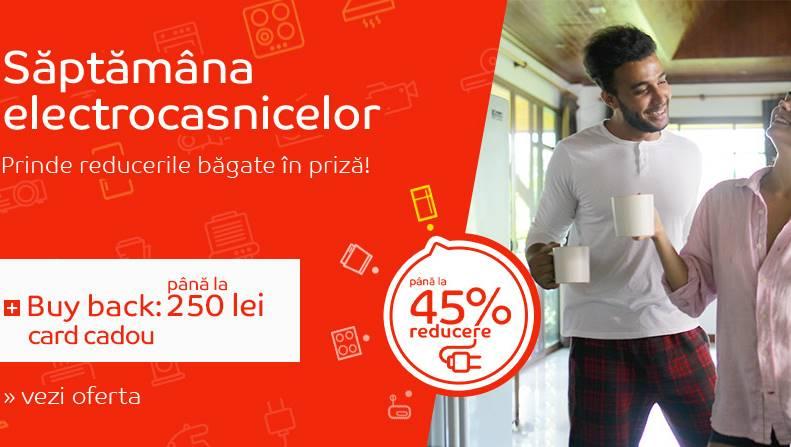 eMAG Saptamana Electrocasnicelor Reduceri Buy back