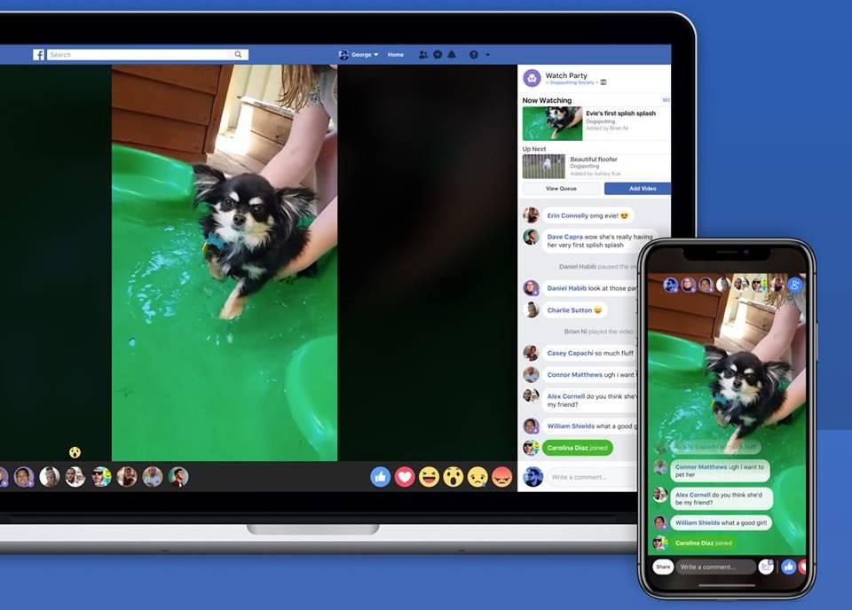 facebook functie majora watch party