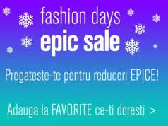 fashion days epic sale reduceri