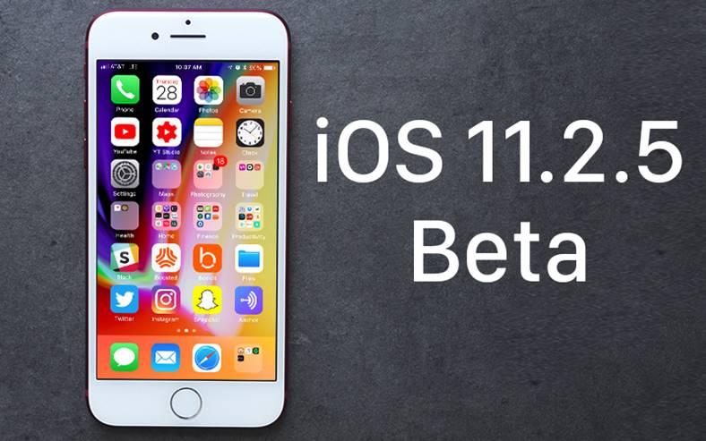 iOS 11.2.5 beta 4 Performante iOS 11.2.2