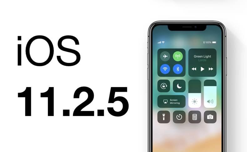 iOS 11.2.5 performante iphone