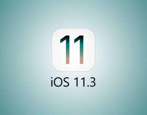iOS 11.3 Autonomia Bateriei iPhone