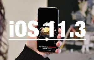 iOS 11.3 Functii Aplicatii