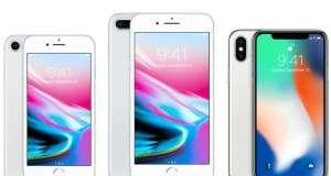 iPhone X vanzari mici iPhone 8
