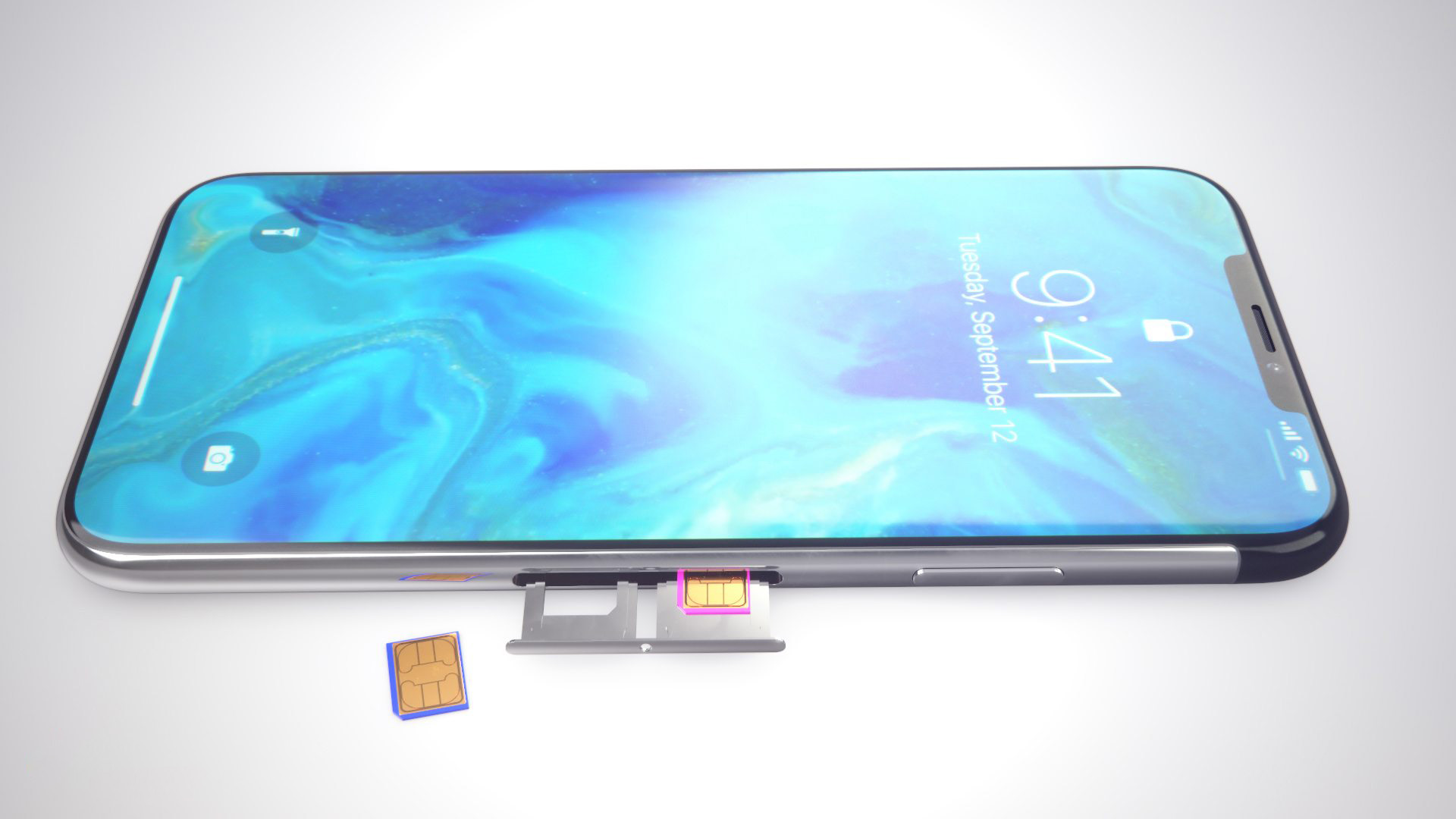 iPhone XS concept dual sim 2