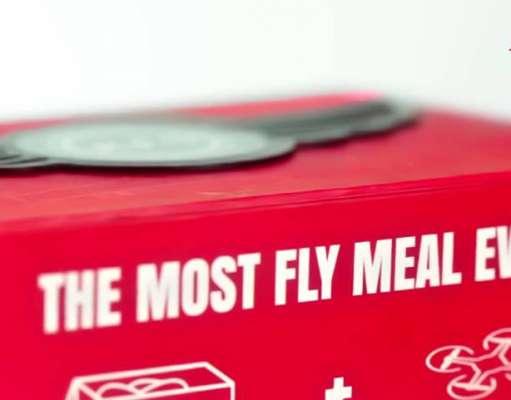 kfc aripioare cutie drona