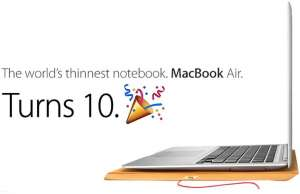 macbook air 10 ani