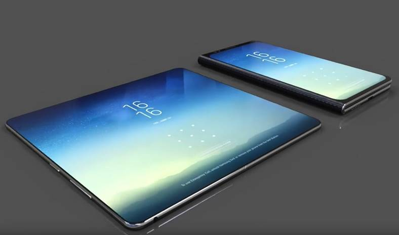 samsung smartphone pliabil