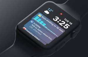 watchOS 5 concept Apple Watch