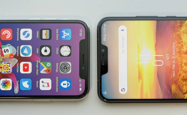 ASUS Zenfone 5 clona iphone x