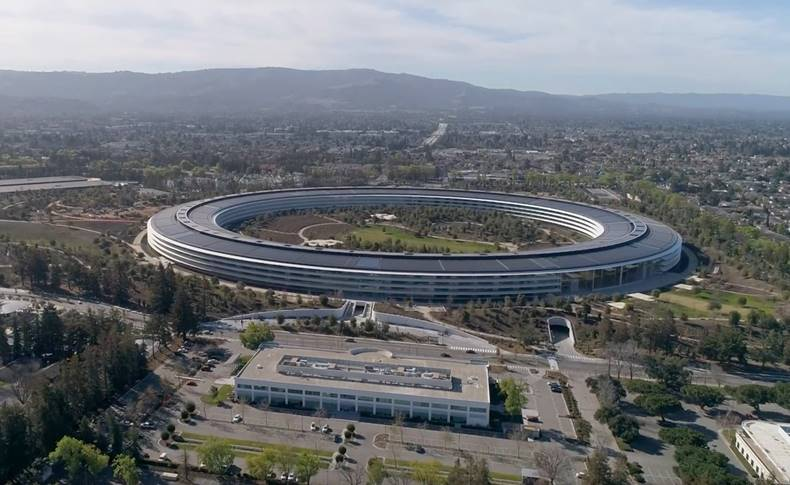 Apple Park februarie 2018