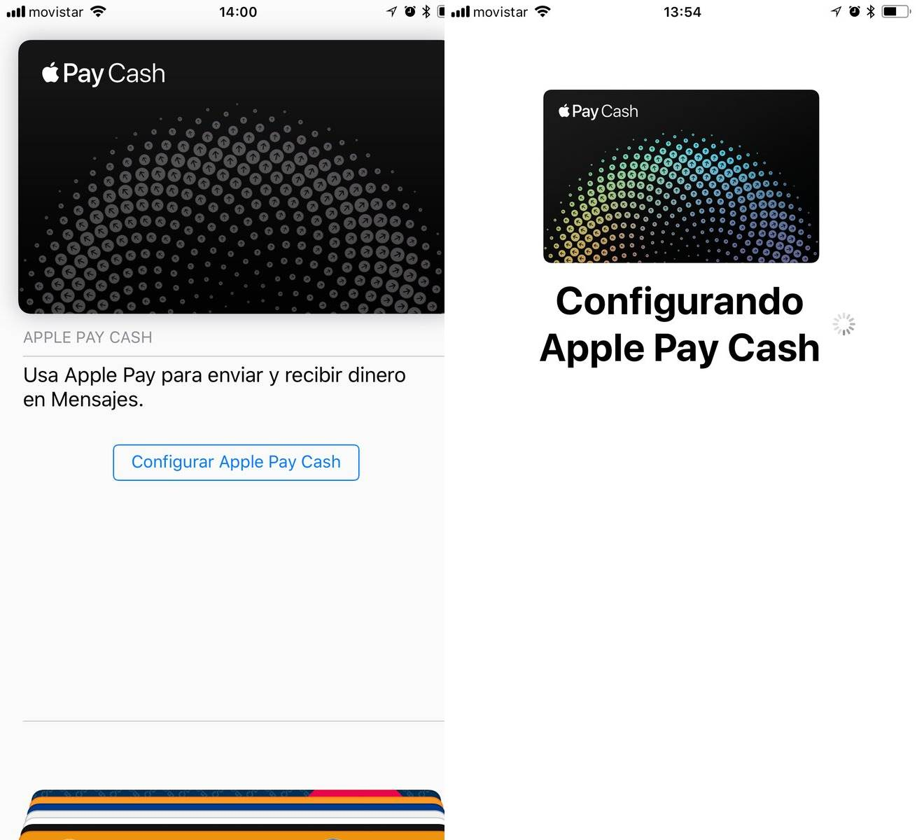 Apple Pay Cash europa