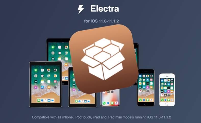 Electra iOS 11 Jailbreak iphone ipad