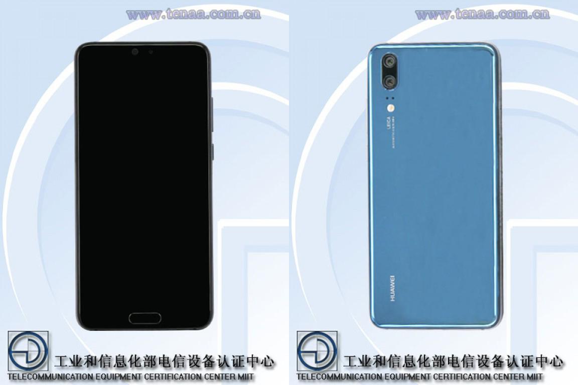 Huawei P20 design confirmat
