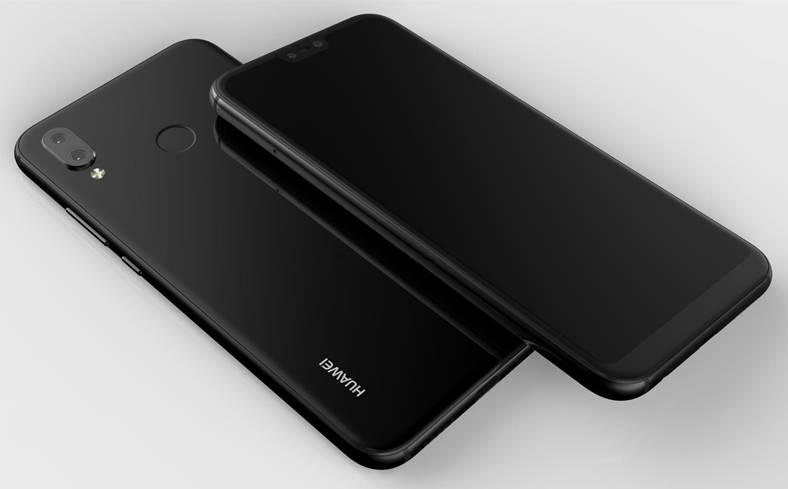 Huawei P20 design copie iphone x