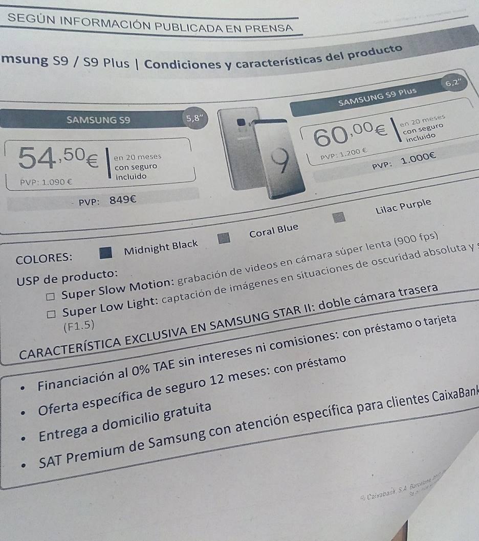 Samsung Galaxy S9 Pretul MARE Confirmat