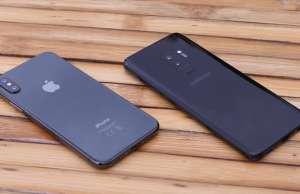 Samsung Galaxy S9 comparatie iPhone X