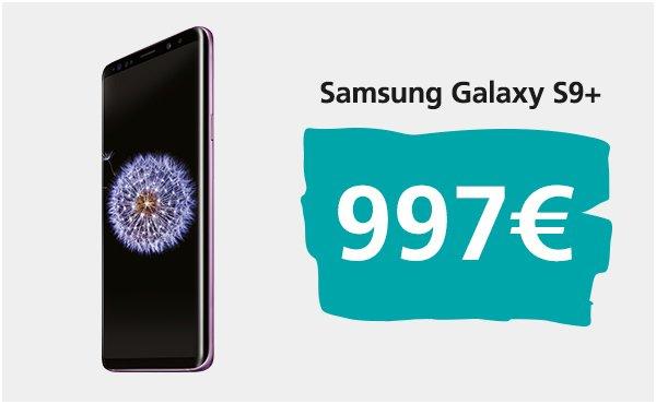 Samsung Galaxy S9 plus pret europa