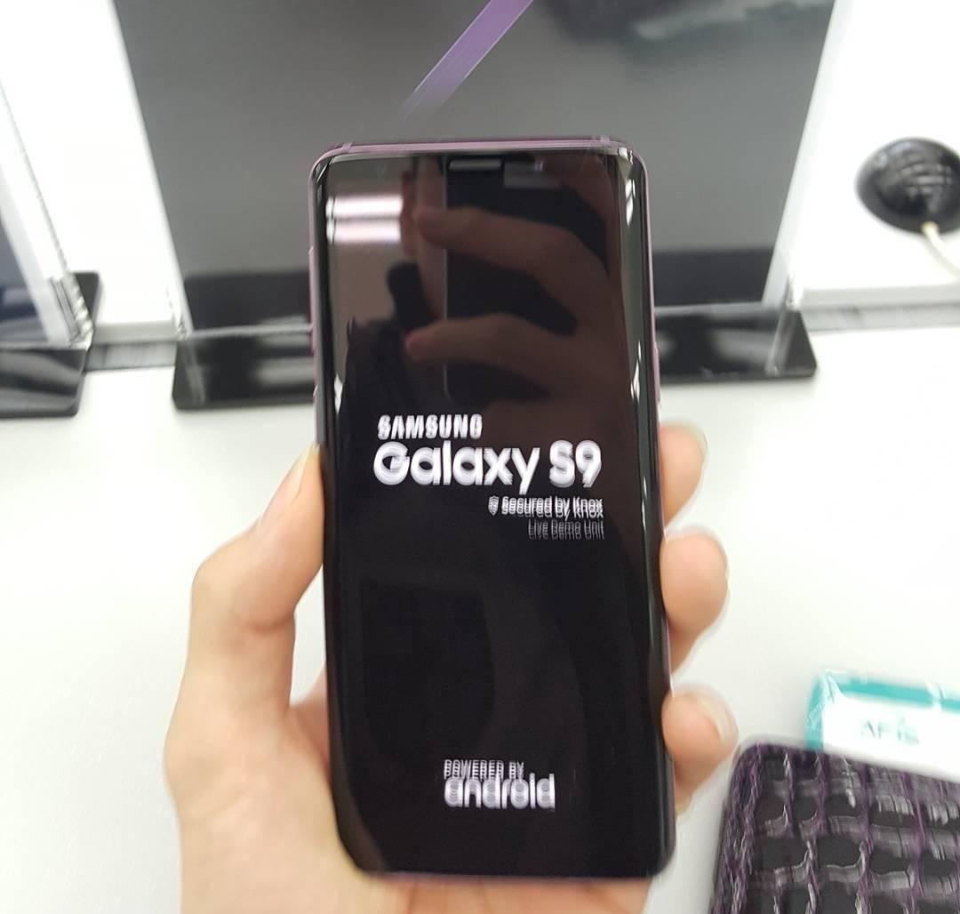 Samsung Galaxy S9 pornit MWC 2018 4