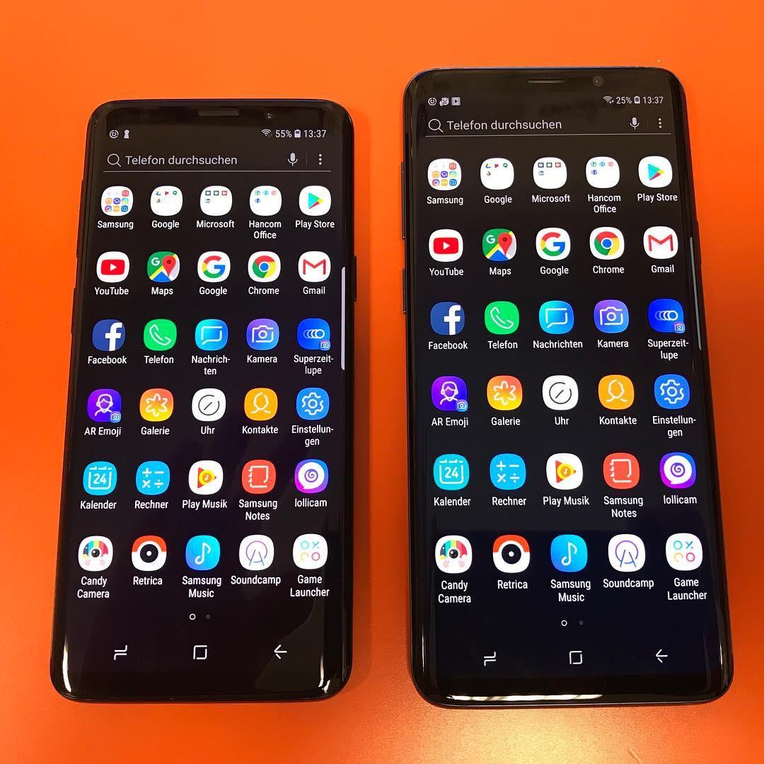Samsung Galaxy S9 pornit MWC 2018