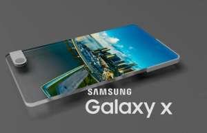 Samsung Galaxy X copia iphone x