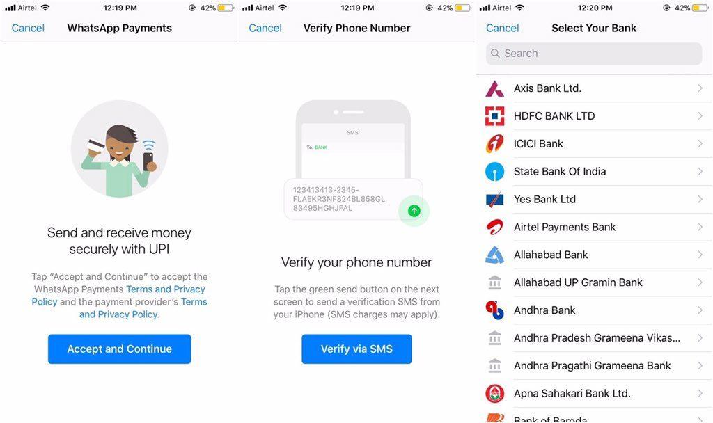 WhatsApp transfer bani
