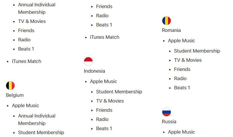 apple music abonament elevi studenti