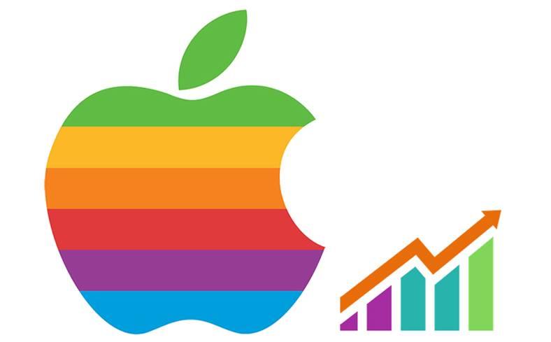 apple valoare record actiuni 2018