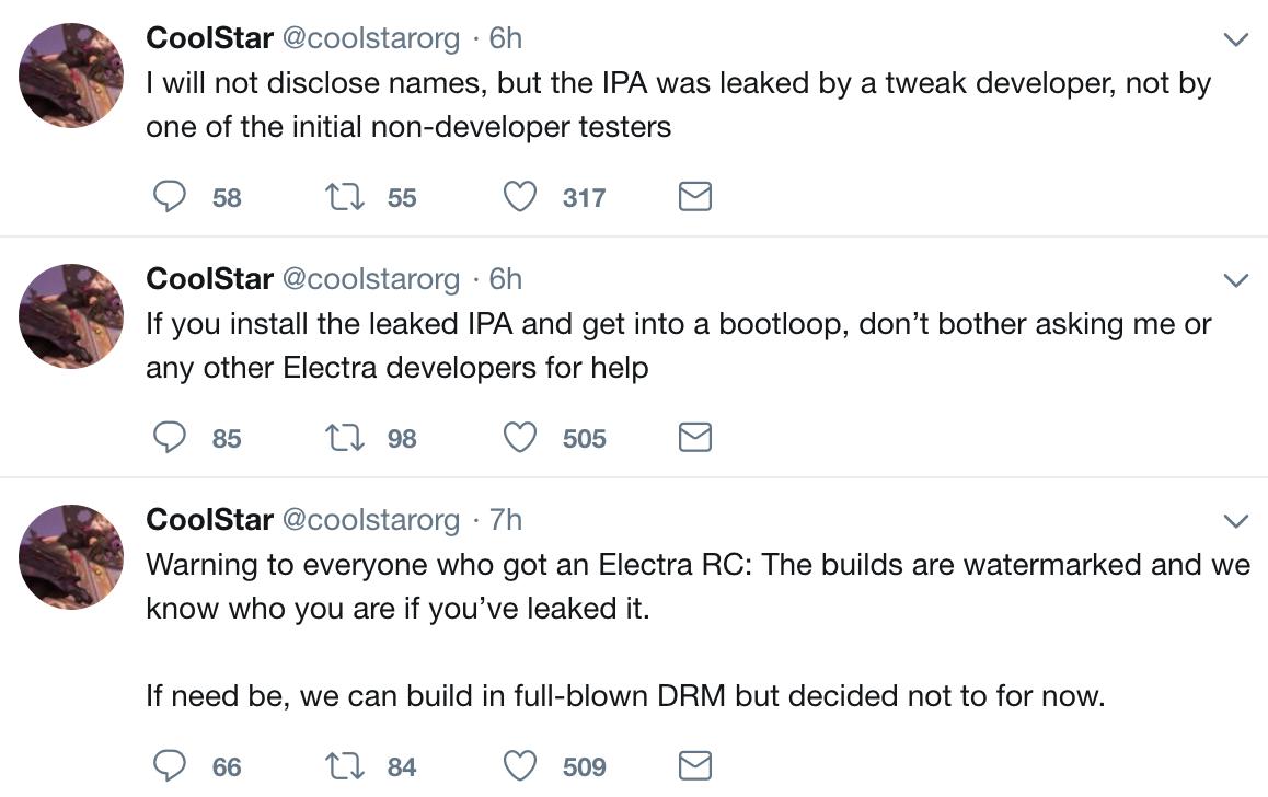 electra rc jailbreak ios 11 1