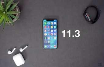 iOS 11.3 CAND Lanseaza iPhone iPad