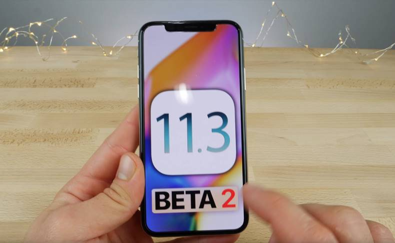 iOS 11.3 beta 2 noutati iPhone ipad